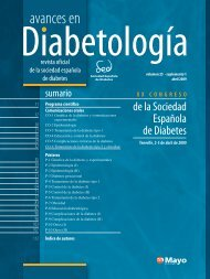 XX Congreso de la Sociedad Española de Diabetes