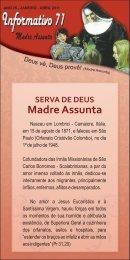SERVA DE DEUS Madre Assunta - Scalabriniana