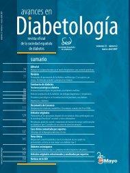 AVANCES 23 2.indb - Sociedad Española de Diabetes