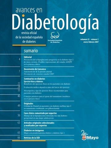 00A PORT Y LOMO AVA.indd - Sociedad Española de Diabetes
