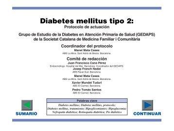 tipos diabetes