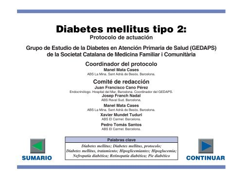 pautas de la asociación americana de diabetes diabetes mellitus tipo 2