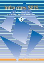Informes SEIS - Sociedad Española de Informática de la Salud