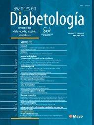 4002771 AVANCES 25-3.indb - Sociedad Española de Diabetes