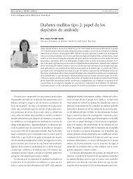 Diabetes mellitus tipo 2: papel de los depósitos de amiloide