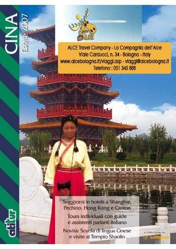 scarica il catalogo generale Cina - ALCE