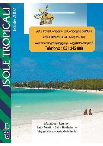 scarica il catalogo generale Isole Tropicali - ALCE