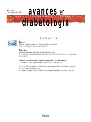 SUMARIO Vol. 20-Nº 3 Julio-Septiembre 2004 SOCIEDADESPA Ñ ...