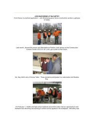 Job Shadowing at McCarthy - Construction Careers Center