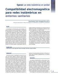 Compatibilidad electromagnética para redes inalámbricas en ...