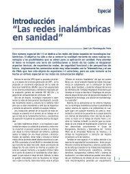 Especial: Las Redes Inalámbricas en Sanidad