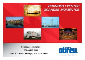 Hotel Suggestions For - escampig 2012