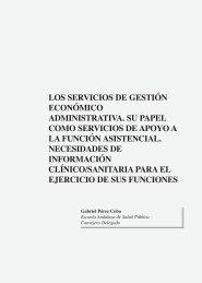 Los servicios de gestión económico administrativa. Su papel