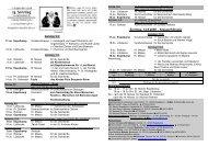 Nr 34 am 23 Sonntag - Pastoralverbund - Lübbecker Land