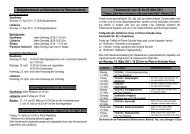 Termine und Aktionen Fastenzeit 2011 für homepage