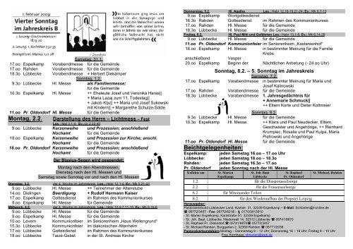 Nr 5 - Pastoralverbund - Lübbecker Land