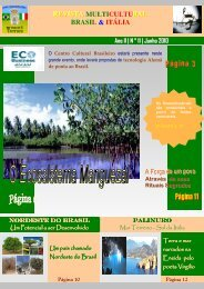 Revista_11_Edicao_Junho_2010 - Revista Multicultural Brasil & Italia