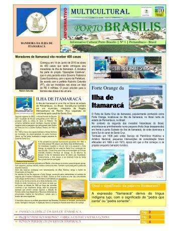 Revista_Porto Brasilis Ano I N 1 - Revista Multicultural Brasil & Italia