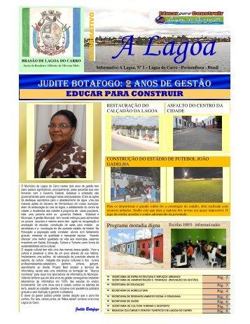 Revista_Lagoa do Carro Ano I N 1 - Revista Multicultural Brasil & Italia