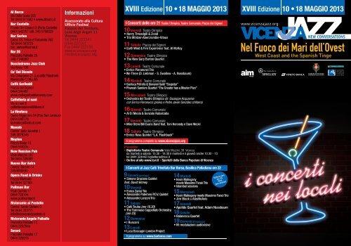 Nel Fuoco dei Mari dell'Ovest - Vicenza Jazz
