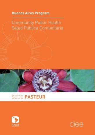 SEDE PASTEUR - Programa de Salud Pública y Comunitaria CIEE ...