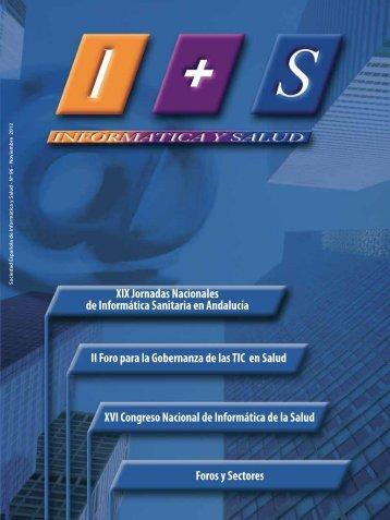 Actividades de la SEIS - Sociedad Española de Informática de la ...