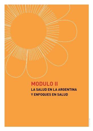 Modulo II- Parte I - Programa de Salud Pública y Comunitaria CIEE y ...