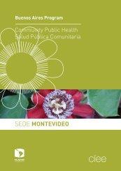 Módulos Sede Montevideo2010 a 2011 - Programa de Salud ...