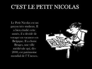 C'EST LE PETIT NICOLAS