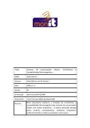 Título Sistemas de Comunicações Móveis: Interferência e ...