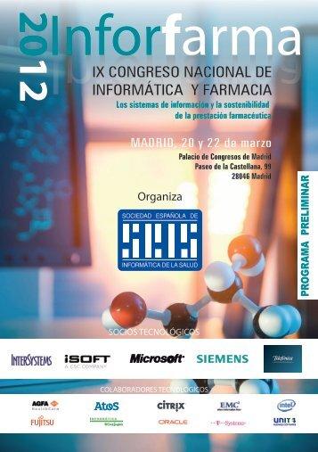 Inforfarma2012 - Sociedad Española de Informática de la Salud