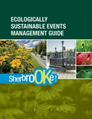 Download the Ecologically Sustainable Events Management Guide