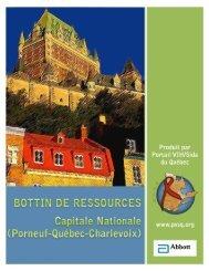 Capitale Nationale - Portail VIH / sida du Québec