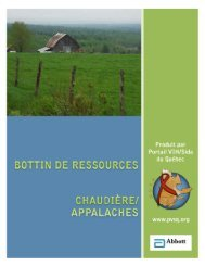 Chaudière/Appalaches - Portail VIH / sida du Québec