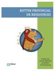 bottin provincial des ressources - Portail VIH / sida du Québec