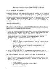 Sondage:Effets secondaires et qualité de vie - Portail VIH / sida du ...