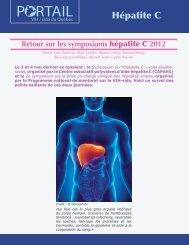 Retour sur les symposiums hépatite C 2012 - Portail VIH / sida du ...