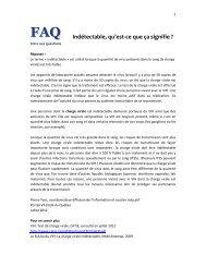 Obtenir une version PDF de cette réponse. - Portail VIH / sida du ...