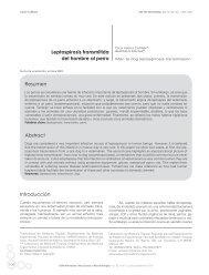 Leptospirosis transmitida del hombre al perro ... - edigraphic.com