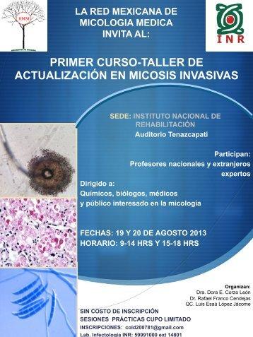 primer curso-taller de actualización en micosis invasivas