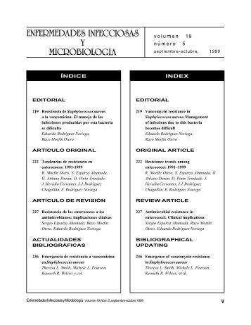 Enfermedades Infecciosas y Microbiologia - Asociación Mexicana ...