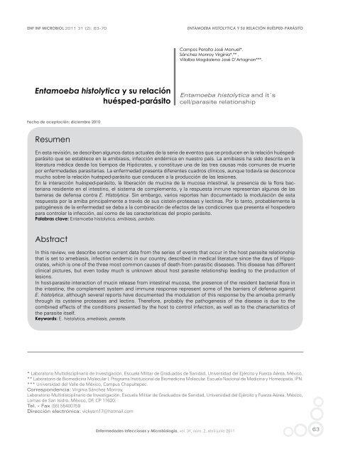 relación del parásito del huésped en microbiología