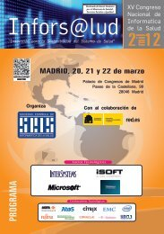 Infors@lud - Sociedad Española de Informática de la Salud