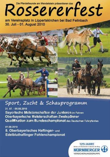 Oberbayerische Fohlenauktionen 2010 - Haflinger Reit- und ...