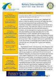 Bulletin n° 40 du 21:4:11 - Free