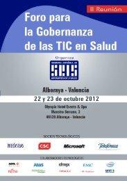 Programas - Sociedad Española de Informática de la Salud