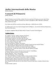 programma pdf - Corriere Del Sud