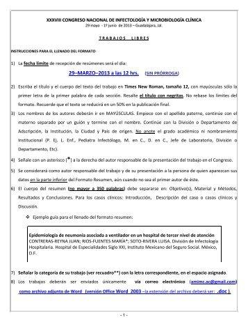XXVIII Congreso Anual de la Asociación Mexicana de Infectología y ...