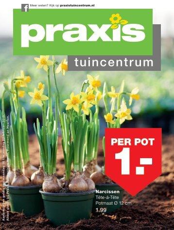 Praxis tuincentrum folder 16 t/m 22 februari 2015