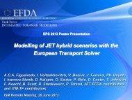 Modelling of JET hybrid scenarios with the European Transport Solver